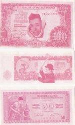 Laurel and Hardy , bankbiljetten , 1971