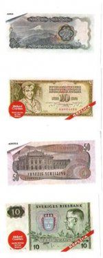 Bank notes of the world