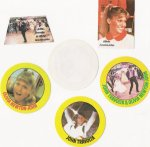 1978 Grease button stickers