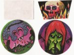 1972 Horror stickers