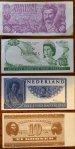 Mini money, Banknotes, genummerd.