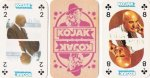 Kojak kaartspel (rode achterkant) , 1976