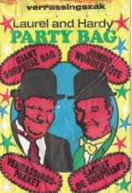 Lauren and Hardy party bag , 1986